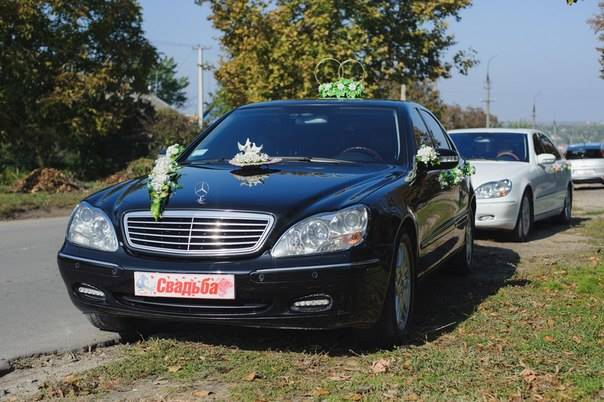 Mercedes-Benz S600 long (черный)