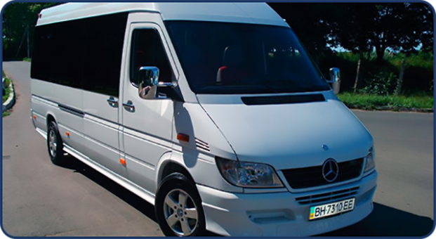 Mercedes-Benz Sprinter (18 белый)
