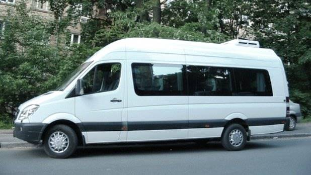 Mercedes-Benz Sprinter(белый