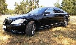 Mercedes S550 W221 4matic (черный)