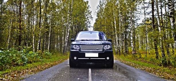 Range Rover Vogue (черный)