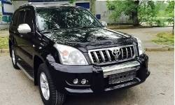 Toyota Land Cruiser Prado (черный)